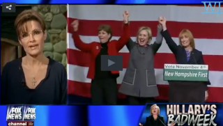 Hillary Clinton and Sarah Palin