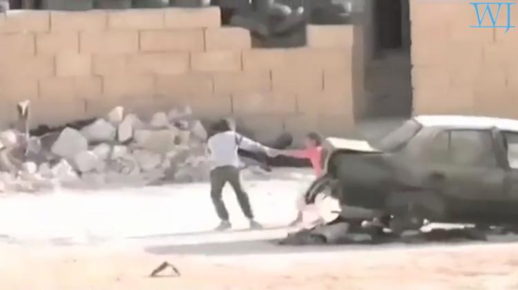 Syrian Boy Saves Girl