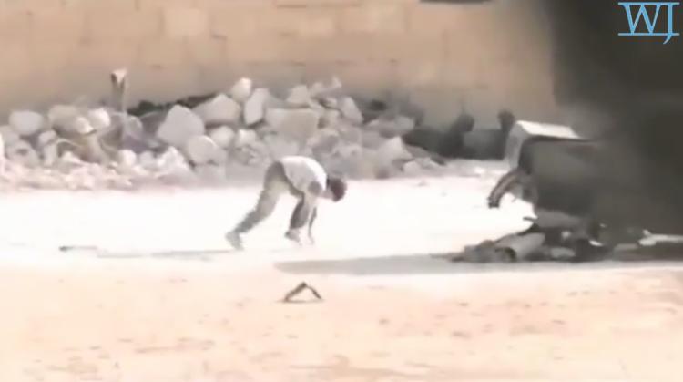 Syrian Boy Getting back up