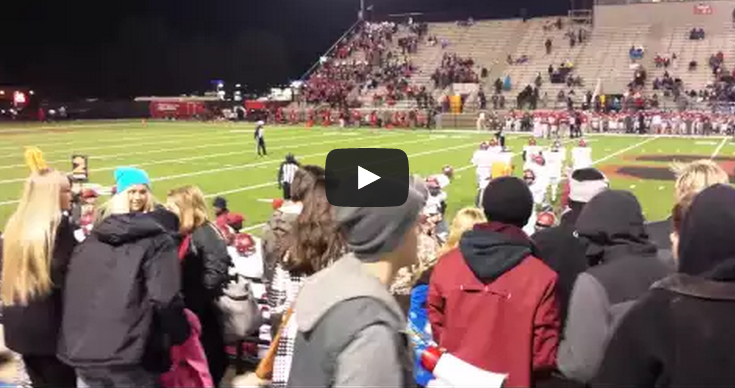 Alabama High School Senior Sprayed With Mace By Police Officer At Football Game