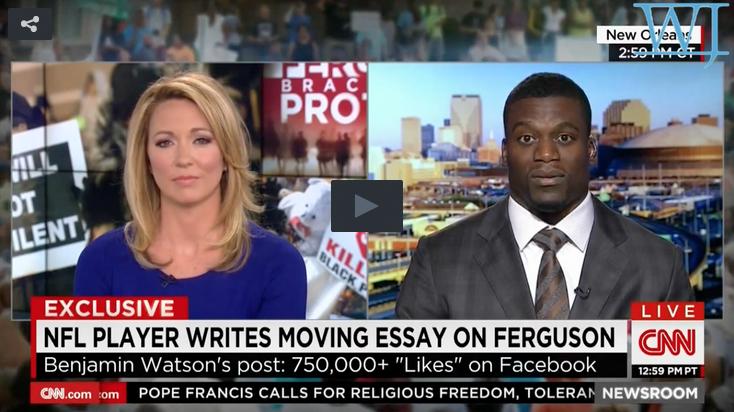 Ben Watson on CNN