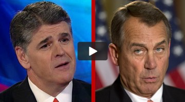 Hannity Boehner
