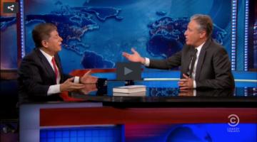 Judge Napolitano and Jon Stewart