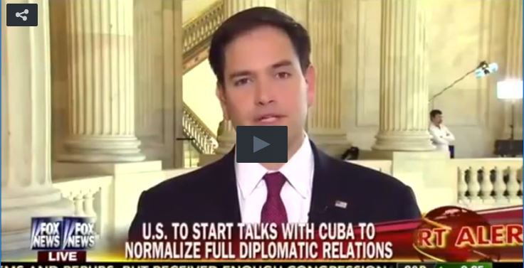 Rubio Rips Obama As Worst Presidential Negotiator Since Carter