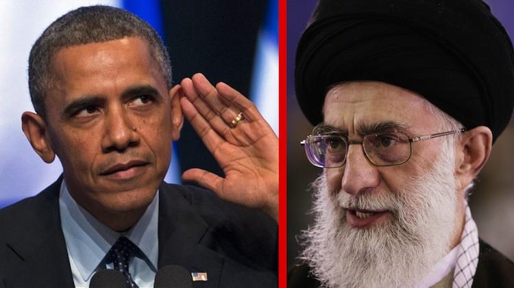 Obama Iran contrast