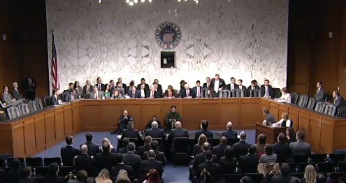 Senate Select Committee on Intelligence hearing