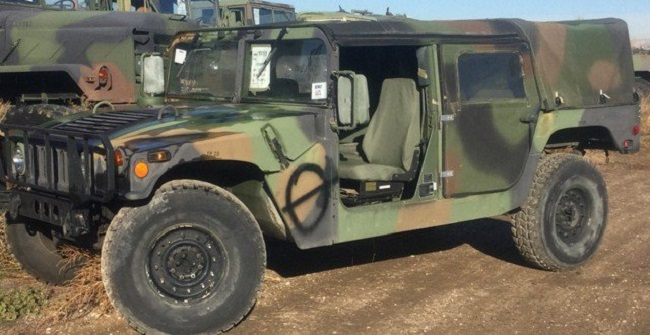 The US Army Is Giving Americans A Chance To Own A War-Used Humvee- Here's How You Can Get One