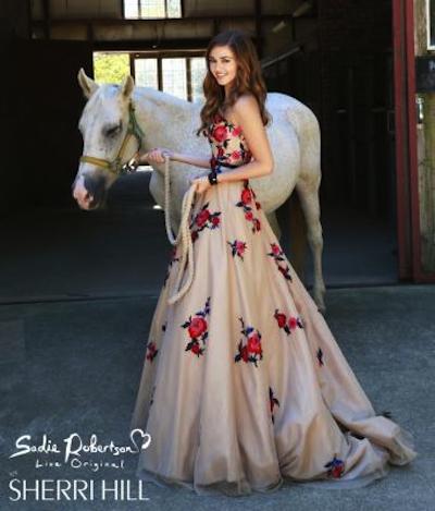 Sadie Robertson Sherri Hill Dresses