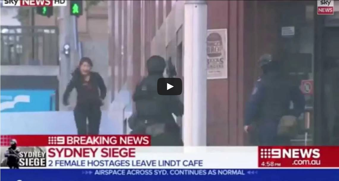 A Few Words About The Sydney Hostage Tragedy–And Its American Cousin