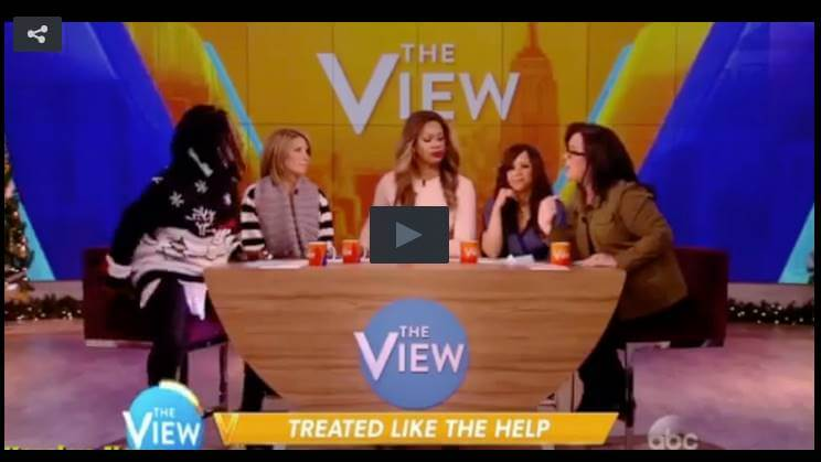 Watch: Rosie Claimed To Know What Racism Is, And Whoopi Almost Fell Out Of Her Seat