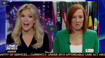 Megyn Kelly and Jen Psaki