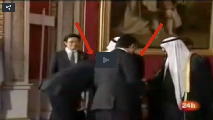 Flashback: Obama Bowed To Saudi King Abdullah