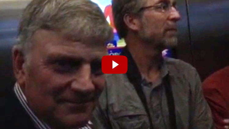 Watch The 7 Faith-Filled Words Rev. Franklin Graham Said During Scary Plunging-Elevator Mishap