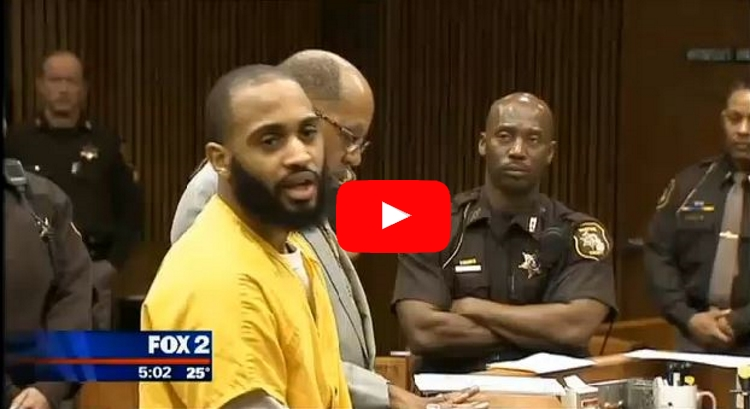 Courtroom Stunned When Vicious Black Murderer Devotes Entire Apology To Ferguson Protests