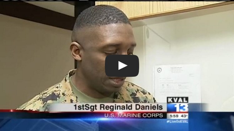 Marine Donates American Flag To Local School–Only To Have It Burned By Vandals