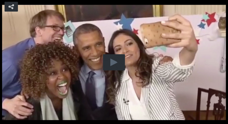 YouTube Celebs Interview Obama To Connect With Younger Viewers