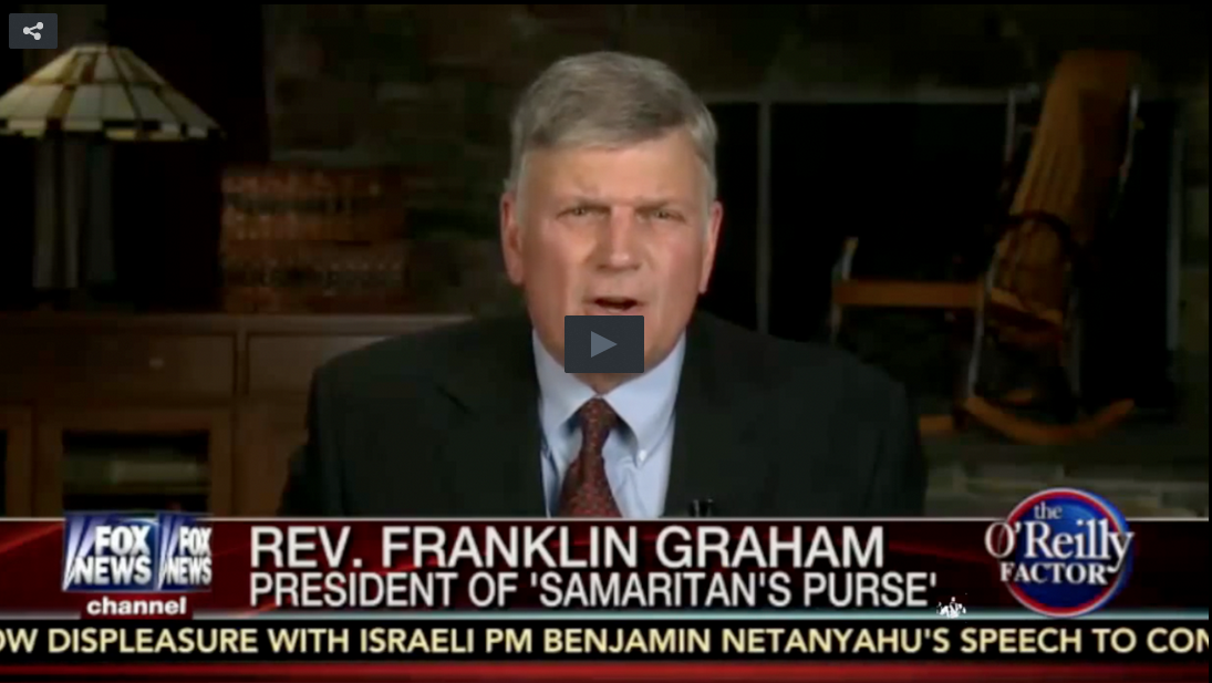 Rev. Franklin Graham Warns That DC Has Been 'Infiltrated By Muslims'