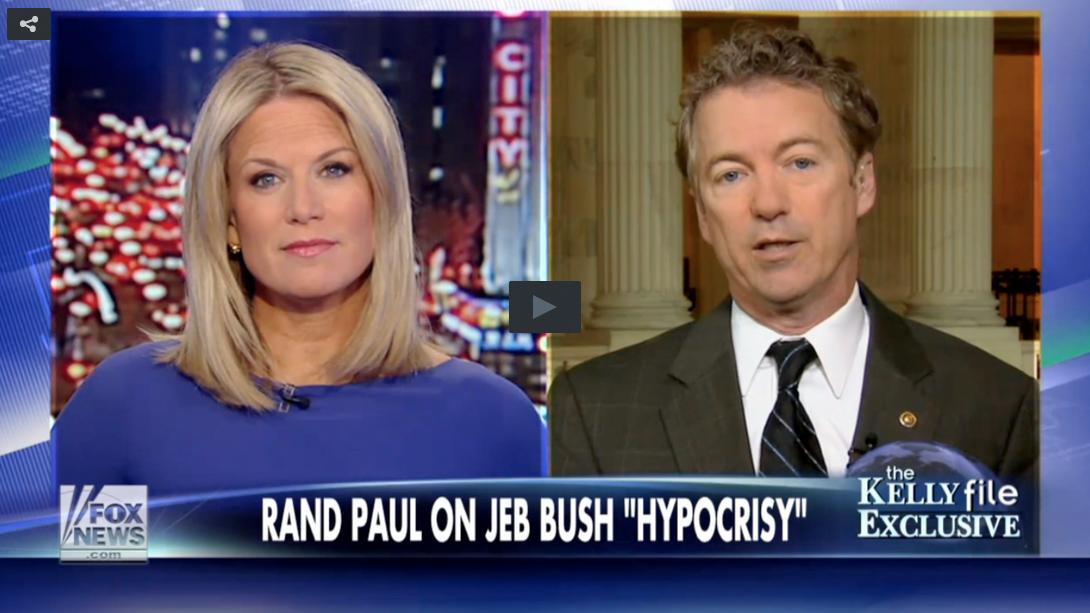 Rand Paul Slams Jeb Bush On Marijuana Hypocrisy
