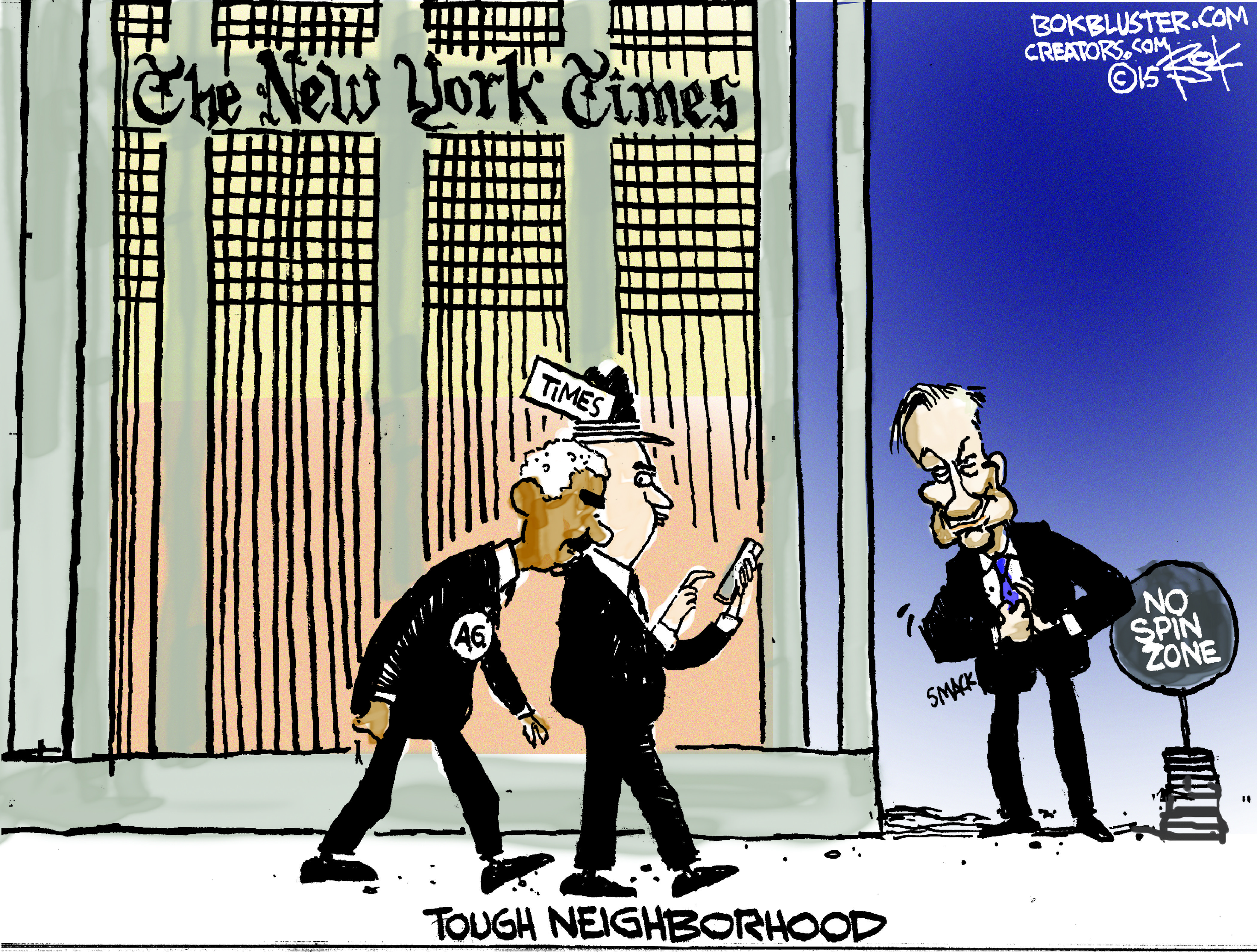 O' Reilly Vs. New York Times