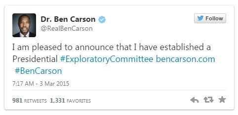 03032015_Ben Carson Tweet_Twitter