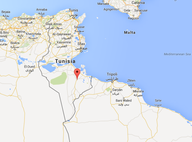 03252015_Tunisia1_Google Maps