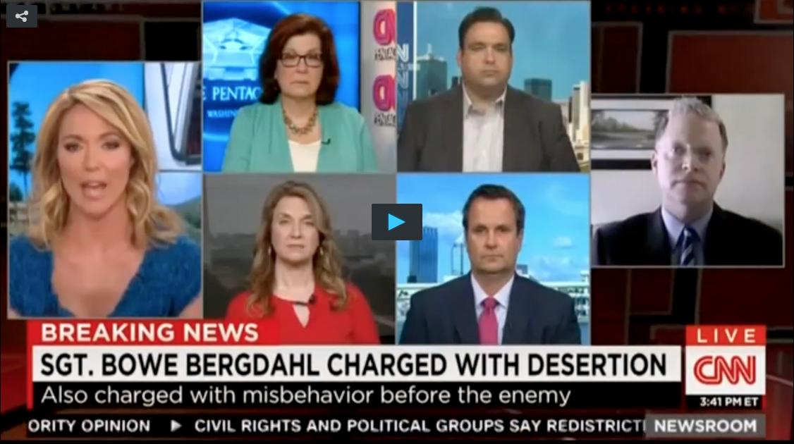 CNN Host Thinks Captivity Is 'Punishment Enough' For Deserter Bowe Bergdahl