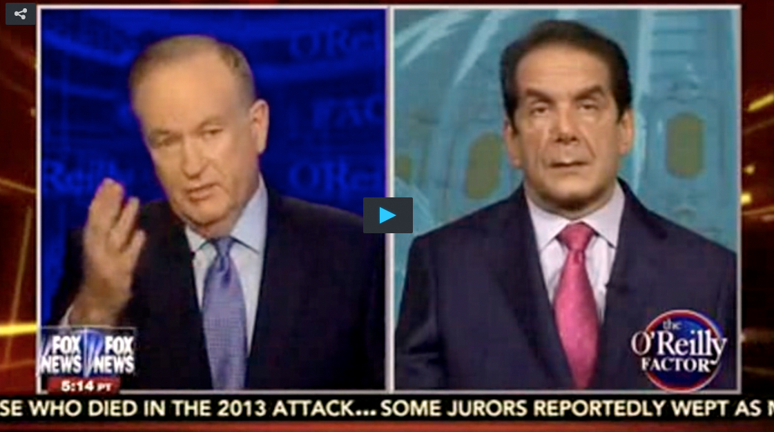 Krauthammer: Iranian Nuclear Deal Is 'Surrender At Every Level'