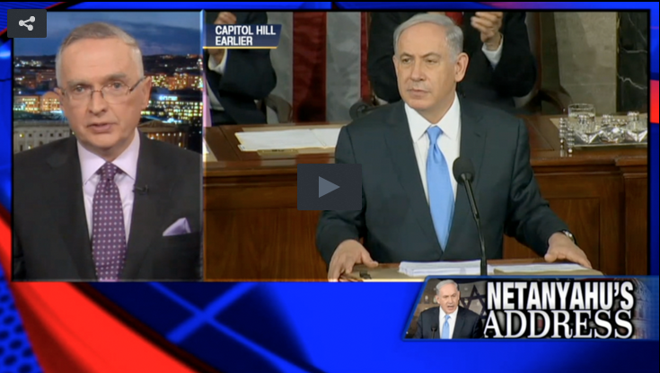 Col. Peters and Netanyahu