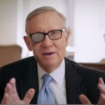 YouTube/Nevada Senator Harry Reid