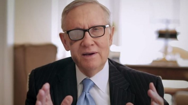 YouTube/Nevada Senator Harry Reid