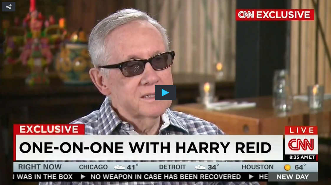 Watch: Harry Reid Proud Of His Lies About Mitt Romney And Koch Brothers