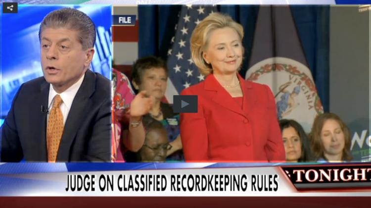 Hillary Clinton and Judge Nap