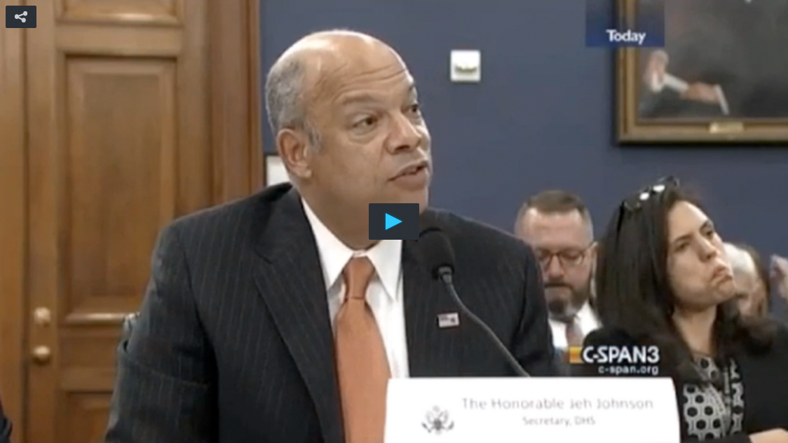 DHS' Jeh Johnson: 'Thousands' Of Unaccompanied Children Continuing To Cross Into U.S.