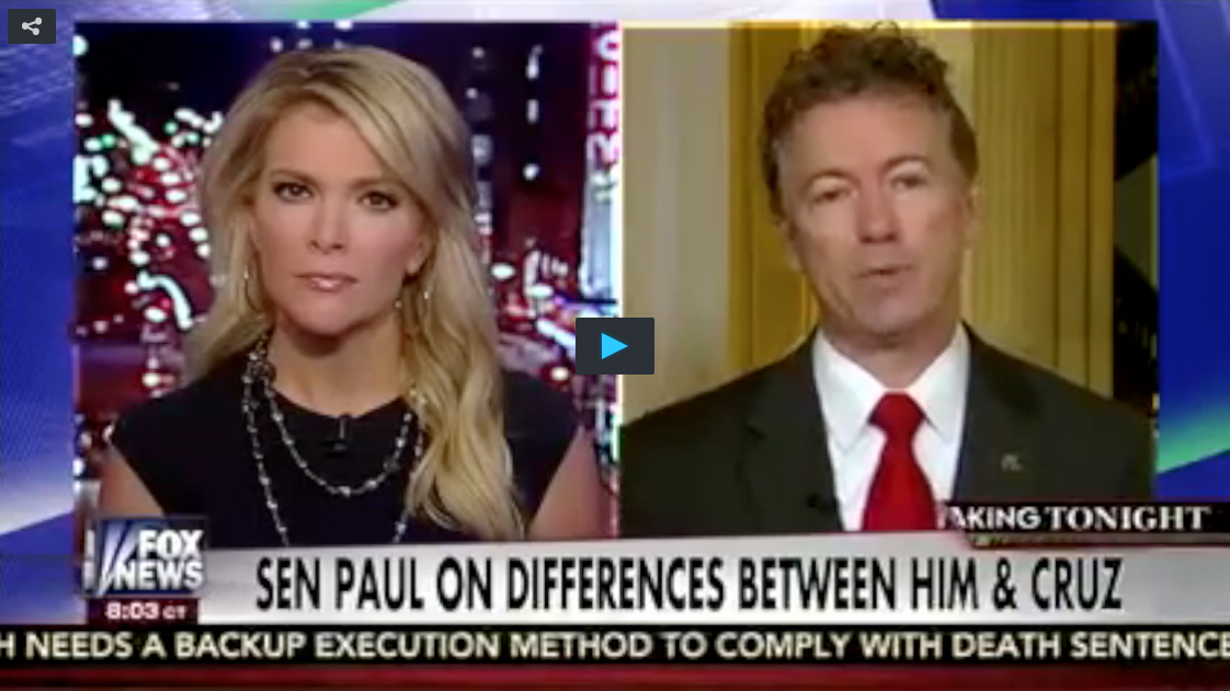 Megyn Kelly, Rand Paul
