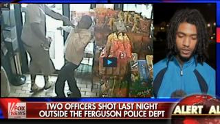 Protester Ferguson