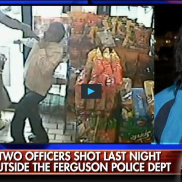 Ferguson protester won t believe facts about michael brown case