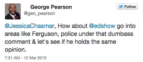 Twitter/ George Pearson