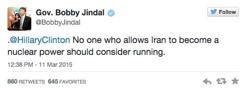 Twitter/ Bobby Jindal