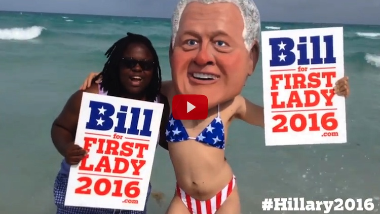 Image Credit: YouTube/billforfirstlady2016.com
