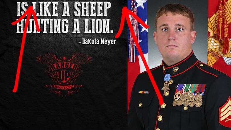 Here's The Awesome Anti-ISIS Message This Decorated Marine Wants America To Proudly Wear