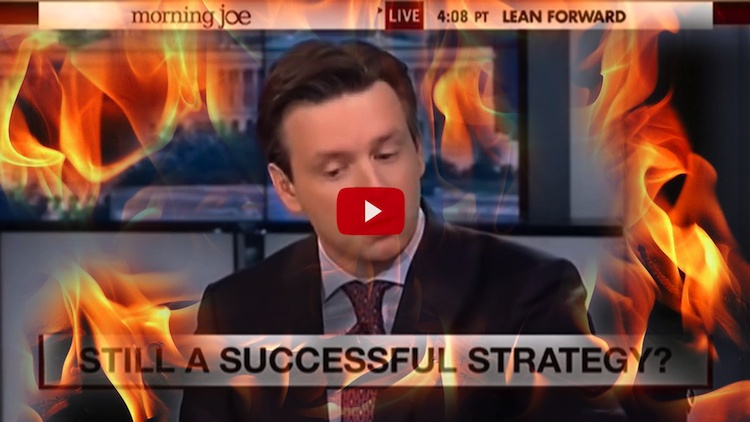 OUCH! See Flustered WH Flack Try To Defend Obama's Collapsing Claim Of Terror-Fighting 'Success'