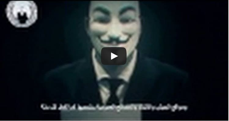 Anonymous Threatens Israel With 'Electronic Holocaust' Ahead of Holocaust Remembrance Day
