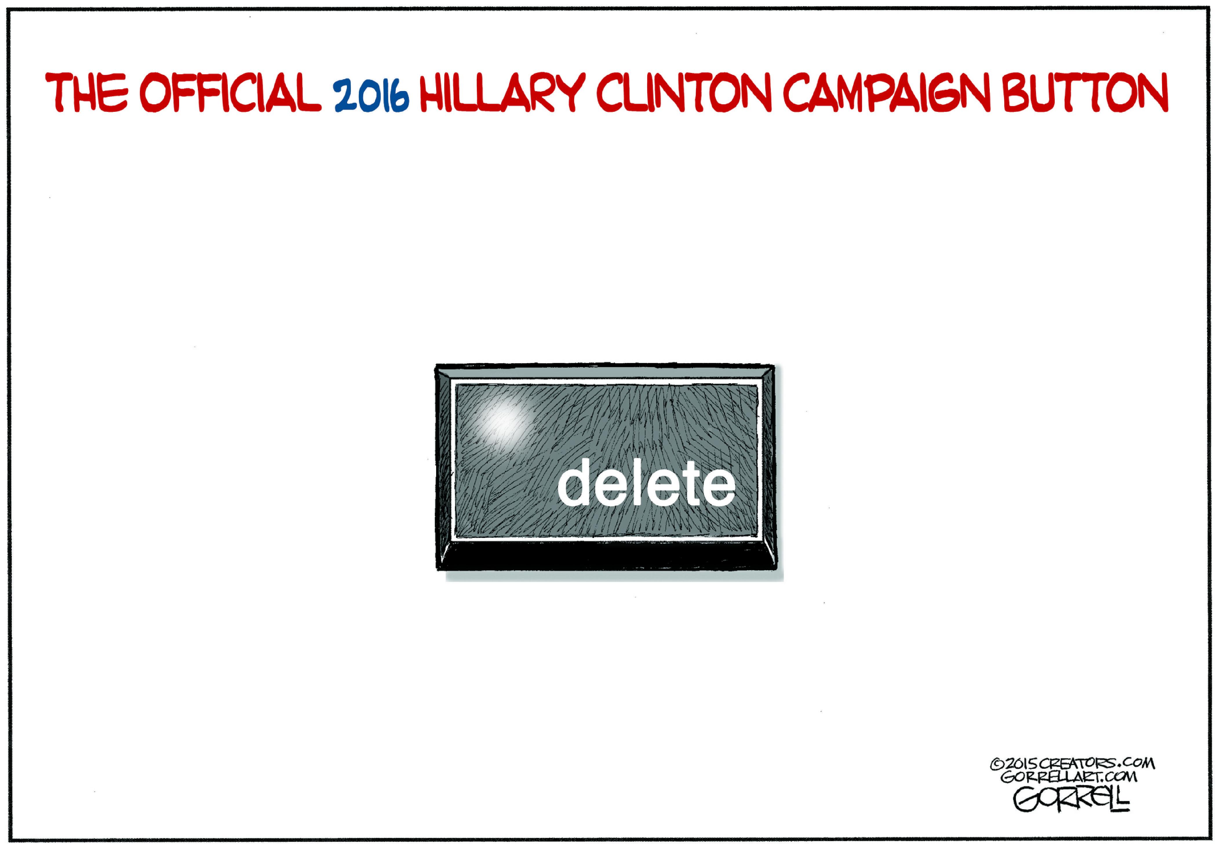 Hillary Clinton's Campaign Button
