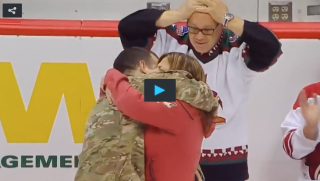 Army Vet surprises parents
