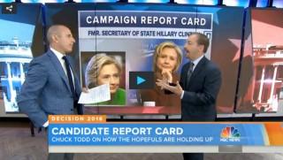 Chuck Todd, Hillary Clinton