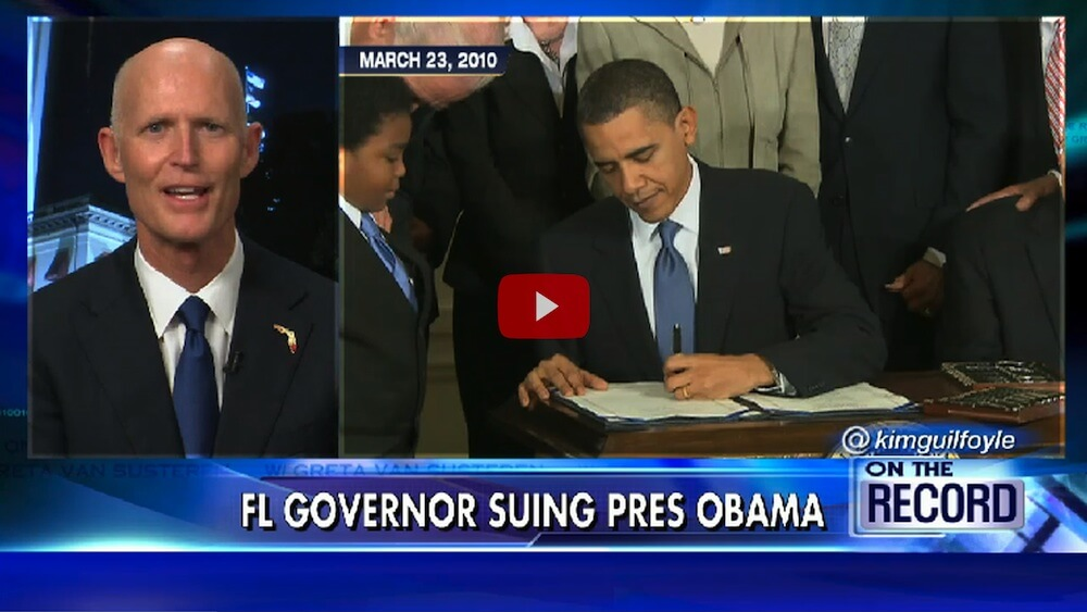 WATCH: This Angry Governor Has Just Taken a Bold, Defiant Stand Over ObamaCare 'Extortion'