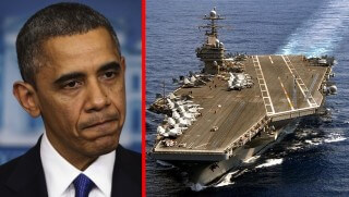 WCJ images Obama warship