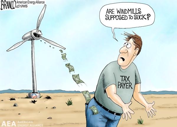 Windmills Suck 600 AEA