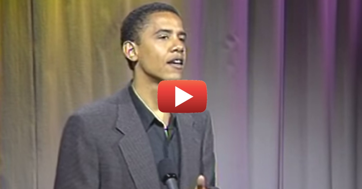 Shocking 1995 Video Surfaces of Barack Obama Revealing Who He REALLY Is