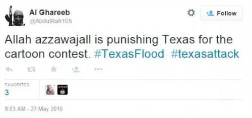 Tweet - Flooding ISIS II